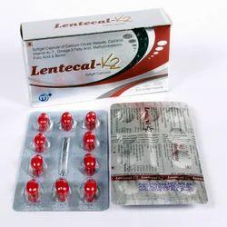 Lentecal K2 Capsules, Medilente, 10 X 10