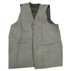 Wedding Gray Mens Designer Waistcoat