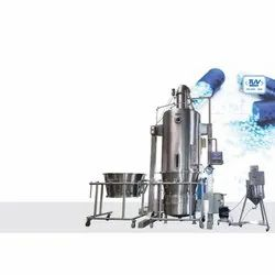Fluid Bed Processor With Top Spray/Dryer