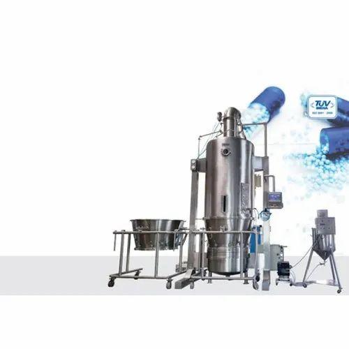 Fluid Bed Processor With Top Spray/Dryer