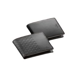 Black Foam Leather Corporate Mens Wallets 43224037a