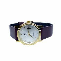 Aviator Shopper Revolving Plane White Dial Wrist Watch