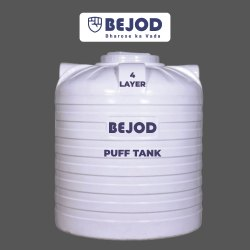 BEJOD 4 Plastic Tank, For Water Storage, Capacity: 500-1000 L