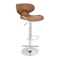 MBTC Horse Bar Stool Chair in Beige