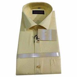 Mens Cotton Plain Shirt, Size: M - XXL