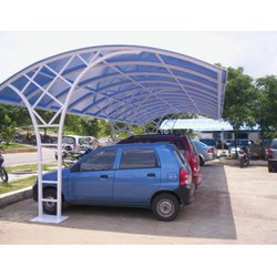 Stainless Steel Parking Shed