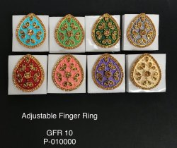Artificial Golden Finger Rings