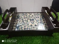 Serving Tray With Stand Foldable