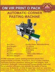 AUTOMATIC CORNER PASTING MACHINE