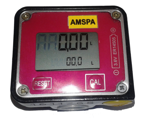 Amspa Digital Diesel Oval Gear Flow Meter