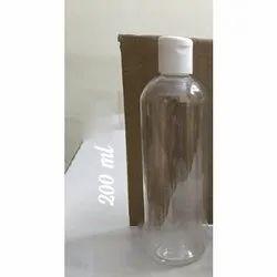 200 ml Flip Top Plastic Bottle