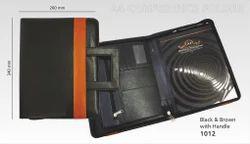 Briefcase Handle Conference Folder