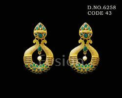 Traditional Hanging Antique Earrings