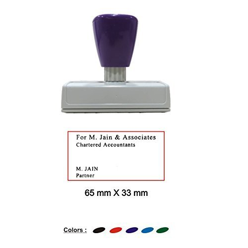 Self Inking Customized With Clear Impression Size 65 X 33 M