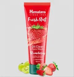 Himalaya Fresh Start Oil Clear Strawberry Face Wash, Packaging Type: Tube