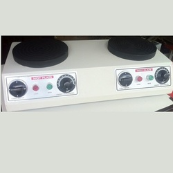 Double Round Hot Plate
