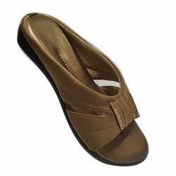 Rajson & Company Leather Plain Sandal, Size: 36-42