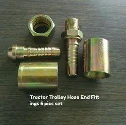 Tractor Trolley Hydraulic Hose End Fitting