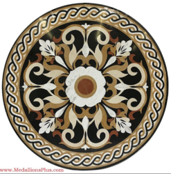 Stone Floor Medallion