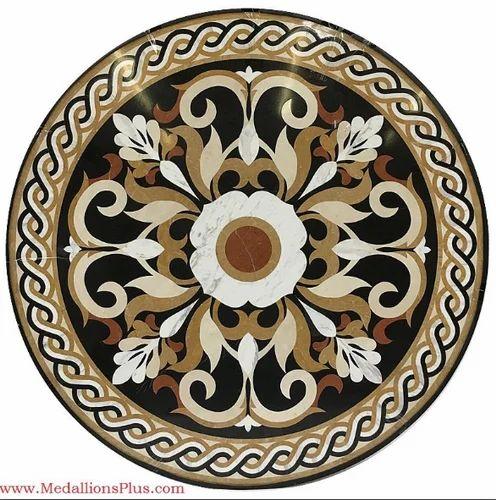 Stone Floor Medallion Matrix Impex Wholesale Distributor In Vile - Medallion flooring distributor