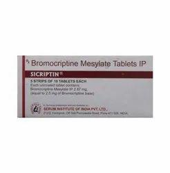 Sicriptin 1.25 Tablet