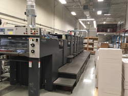 Heidelberg SpeedMaster 74 6 L 6 Color with Coater