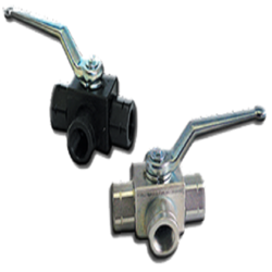 3-WAY CARBON STEEL BALL VALVE (SERIES 430)