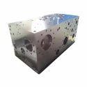 Polished Metal Hydraulic Manifold Block