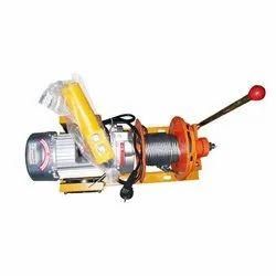 ELECTRIC WINCH WITH CLUTCH SINGLE PHASE