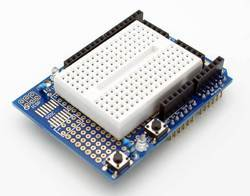 Prototyping Shield with Mini BreadBoard