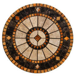 Pietra Dura Handmade Stone Inlaid Art Table Top