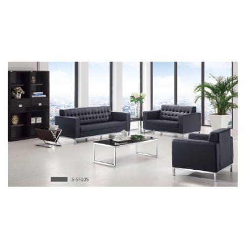 Black Wooden (inner Frame) Designer Sofa Set