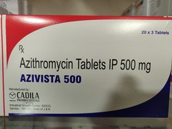 Azivista-500 ( Azithromycin 500 mg ) Tablets