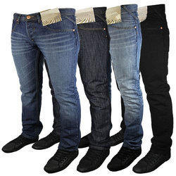 Party Wear Mens Denim Narrow Fit Jeans, Waist Size: 28-36