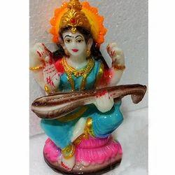 Ceramic Maa Saraswati Statue