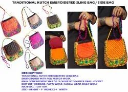 Traditional Kutch Embroidered Side Bag