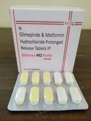 Glimepiride2mg + Metformin SR.1000mg