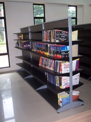 Book Library Shelves