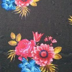 Designer Floral Printed Rayon Dress Fabric