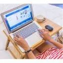Parasnath Premium Bamboo Foldable Multi-Function Portable Laptop Table
