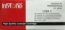128A C(CE 321A) Compatible Colour Toner Cartridge For HP Printers