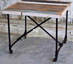 Loft Furniture - Metal Cafe Restaurant Table