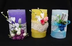 Round Candles, Packaging Size: 100