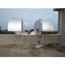 Split AC HVAC GI Air Duct, Capacity: 5.5 Tr, Coil Material: Aluminium