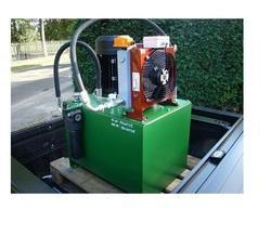 Stainless Steel And Steel Fully-Automatic Pusher Cylinder Hydraulic Power Pack