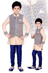 Boys Indo Western Kurta Pyjama For Young Boys