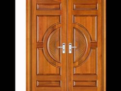 Sagwan Wooden Double Door