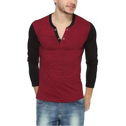 Men XL Boys Designer Full Sleeve T Shirts