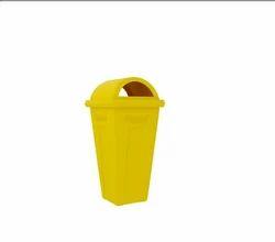 Plastic Garbage Bin, Size: 60 Lts