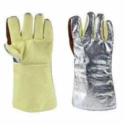 Kevlar Aluminium Gloves